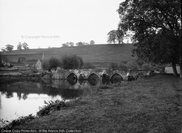 Bradford On Avon, Barton Bridge c.1900