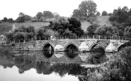 Bradford-on-Avon, Barton Bridge c.1950