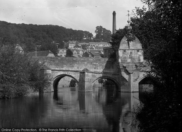 Bradford On Avon, Blind House On The Bridge c.1900