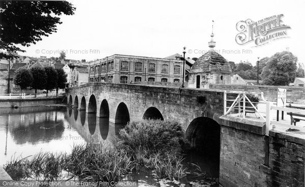 Bradford On Avon, Blind House On The Bridge c.1955