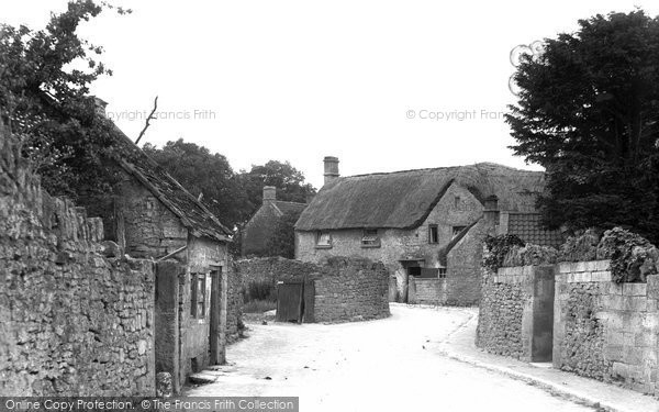 Bradford On Avon, Budbury c.1900