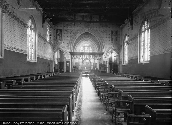 Bradford On Avon, Christ Church Interior c.1900