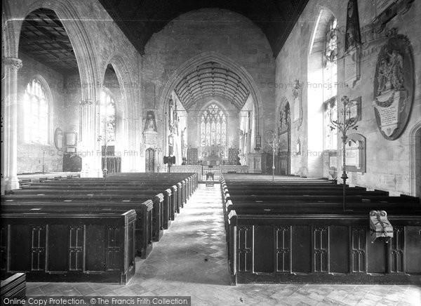 Bradford On Avon, Church Interior c.1900