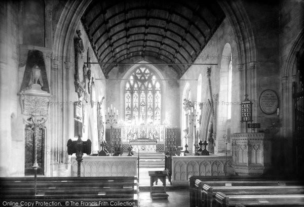 Bradford On Avon, Holy Trinity Church 1900