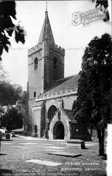 Bradford On Avon, Holy Trinity Church 1914