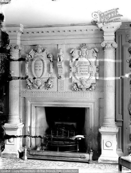 Bradford On Avon, Kingston House, A Fireplace c.1900