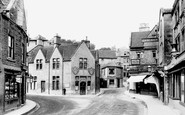 Bradford-on-Avon, Knees Corner 1900