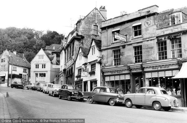 Bradford On Avon, Market Street c.1955