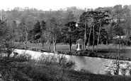 Bradford-on-Avon, River Avon 1914