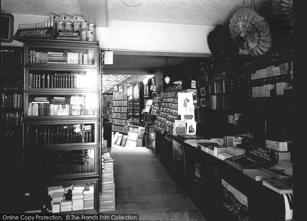 Bradford On Avon, Shop Interior c.1900