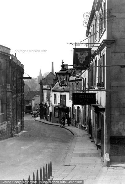 Bradford On Avon, Silver Street c.1945