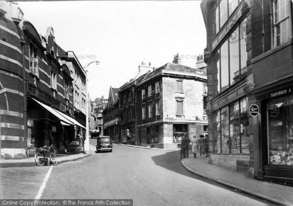 Bradford On Avon, Silver Street c.1955