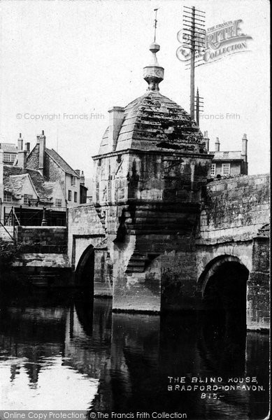 Bradford On Avon, The Blind House 1914