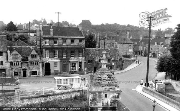 Bradford On Avon, The Blind House On The Bridge c.1955