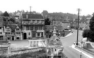Bradford-on-Avon, The Blind House On The Bridge c.1955