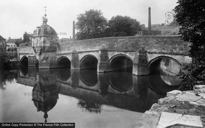Bradford On Avon, The Bridge 1900