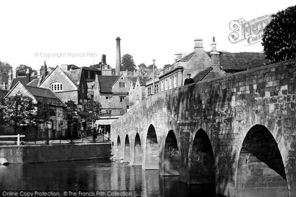 Bradford On Avon, The Bridge 1914