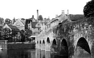 Bradford-on-Avon, The Bridge 1914
