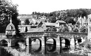 Bradford-on-Avon, The Bridge And Blind House c.1955