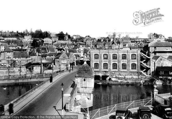 Bradford On Avon, The Bridge c.1945