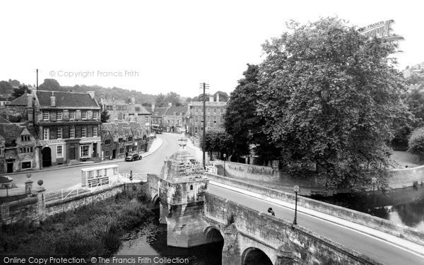 Bradford On Avon, The Bridge c.1955
