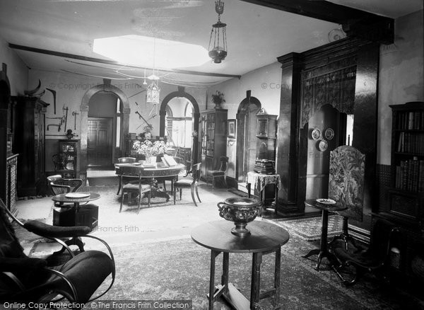 Bradford On Avon, The Chantry Interior c.1900