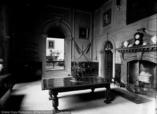 Bradford On Avon, The Chantry Interior c.1900