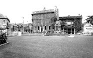 Bradford-on-Avon, The Memorial And Westbury House c.1955