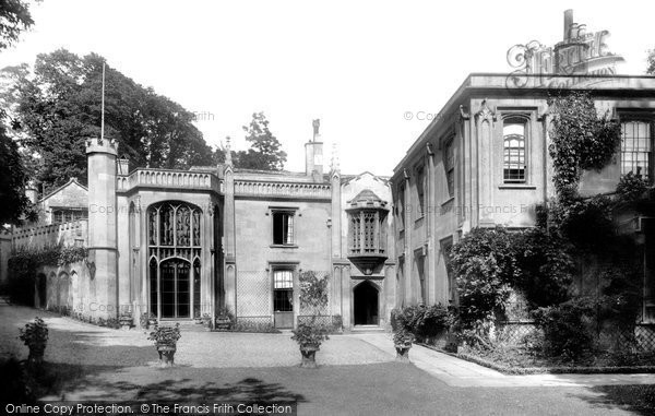 Bradford On Avon, The Old Priory 1900