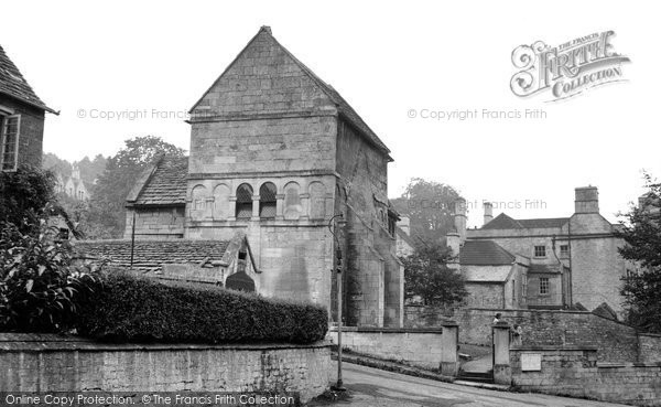 Bradford On Avon, The Saxon Church c.1950