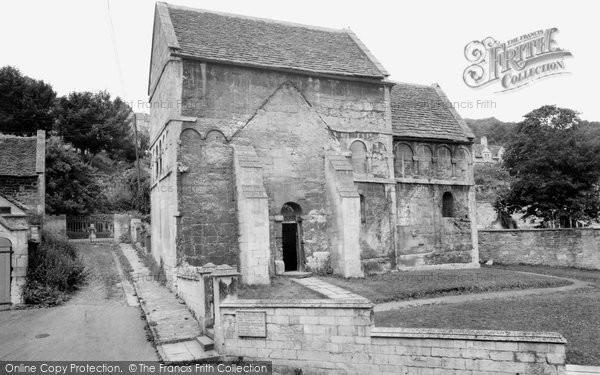 Bradford On Avon, The Saxon Church c.1955