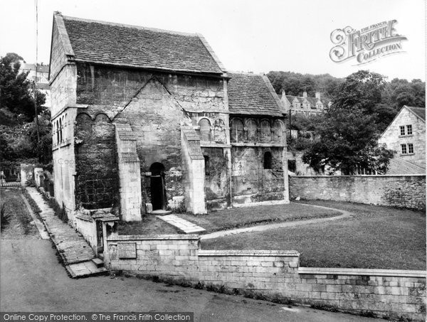 Bradford On Avon, The Saxon Church c.1955