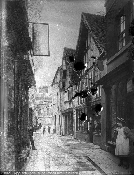 Bradford On Avon, The Shambles c.1900