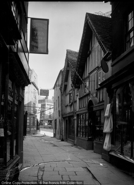Bradford On Avon, The Shambles c.1900