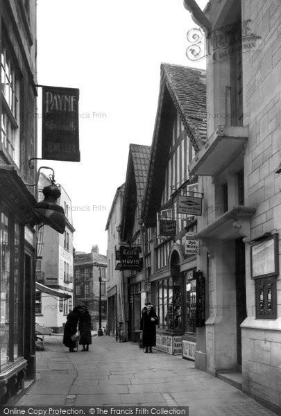 Bradford On Avon, The Shambles c.1945