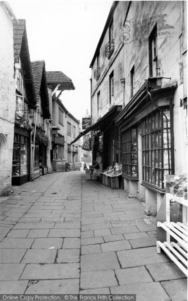 Bradford On Avon, The Shambles c.1955