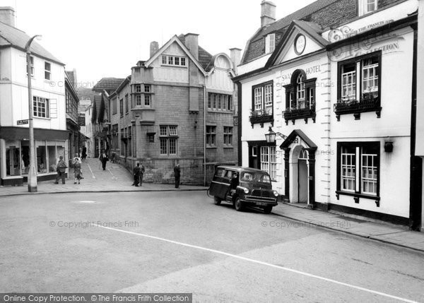 Bradford On Avon, The Swan Hotel c.1955