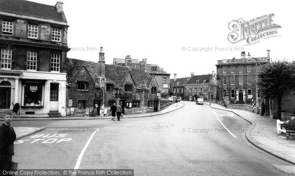 Bradford On Avon, The Three Gables c.1955