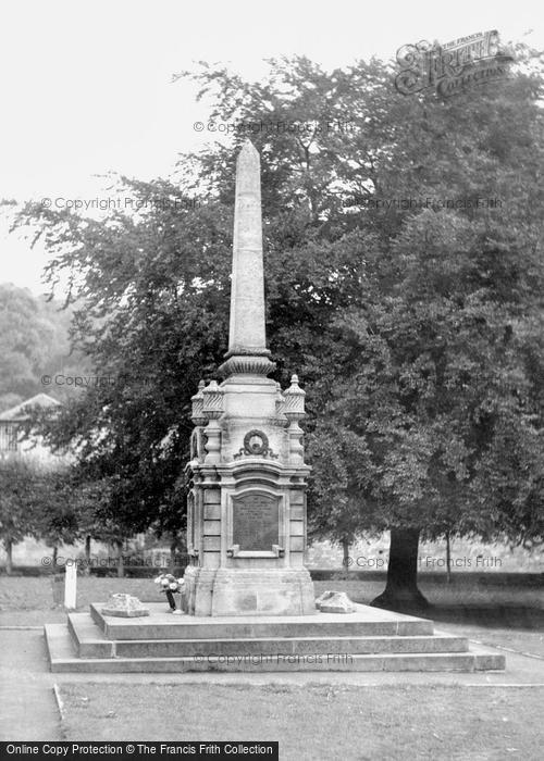 Bradford On Avon, The War Memorial c.1960