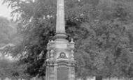 Bradford-on-Avon, The War Memorial c.1960