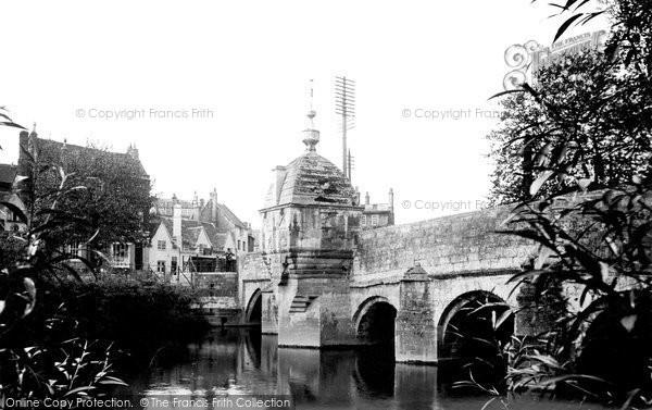 Bradford On Avon, Town Bridge 1914