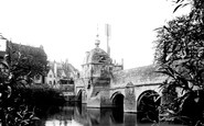 Bradford-on-Avon, Town Bridge 1914