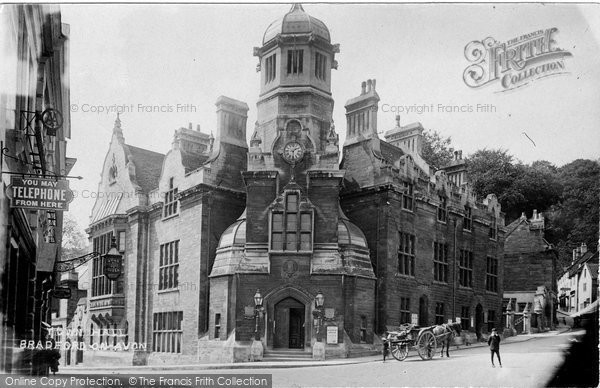 Bradford On Avon, Town Hall 1914