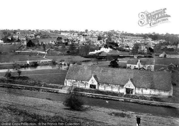 Bradford On Avon, View From The Quarry c.1955