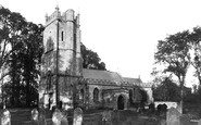 Bradford-on-Tone, Church Of St Giles c.1869