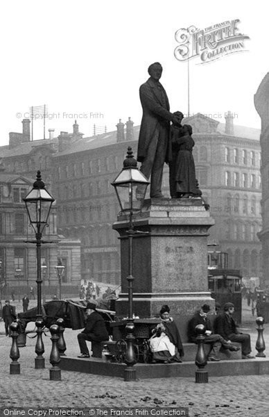 Bradford, Statue, Forster Square 1897