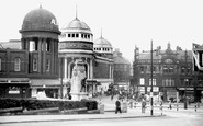 Bradford, The Alhambra and New Memorial c1950