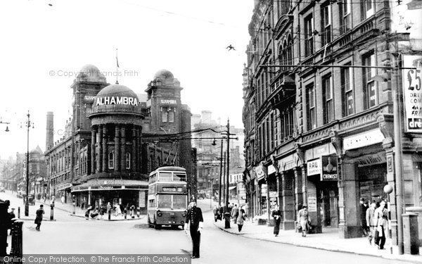 Photo of Bradford, The Alhambra c1955