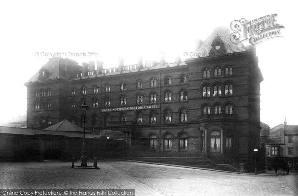 Bradford, The Great Northern Victoria Hotel 1897