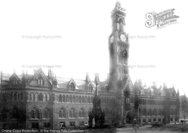 Bradford, Town Hall 1891